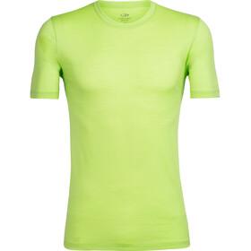 Icebreaker M's Tech Lite SS Crewe Shirt citron